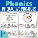 Phonics Interactive Notebook First Grade