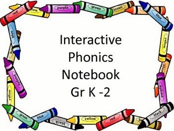 Interactive Notebook - Phonics