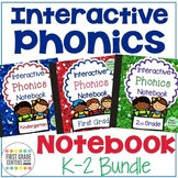 Interactive Phonics Notebook Bundle K-2