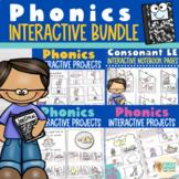 Interactive Phonics Notebook Bundle K-2