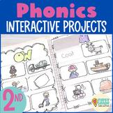 Interactive Notebook: Phonics {Second Grade}