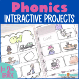 Phonics Interactive Notebook for Second Grade