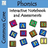 First Grade Phonics Interactive Notebook | Assessments | P