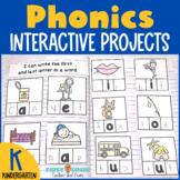 Interactive Notebook Phonics and Phonemic Awareness for Ki