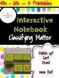 Interactive Notebook Physical Properties of Matter