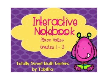 Interactive Notebook- Place Value Foldables and Pockets! (ones- thousands)