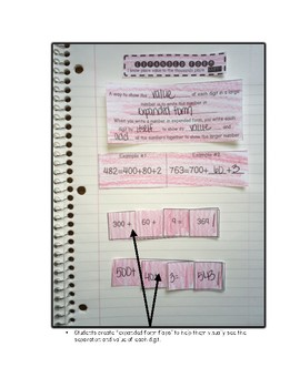 Interactive Notebook: Place Value and Rounding