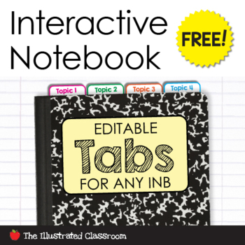 Editable Tabs for Any Interactive Notebook