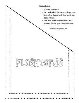 Interactive Notebook Pockets