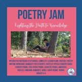 Poetry Jam Interactive Notebook- Flip Book ( Grades 6-8)