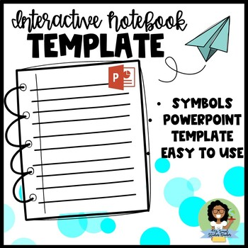 Interactive Notebook Power-Point Template