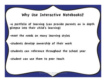 Interactive Notebook Presentation