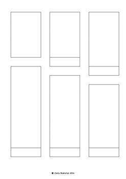 Fully Editable Long Printable Lap Book Template (11 Headings + Cover)