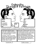 Interactive Notebook Resource: Compare Thought Pattern