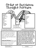 Interactive Notebook Resource: Order and Sequence Thought Pattern