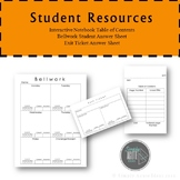 Interactive Notebook Resources
