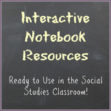 Interactive Notebook Resources: Ready to Use in the Social