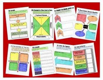 Interactive Notebook Resources for One in Christ Fourth Grade