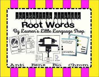 Interactive Notebook Root Word Bundle
