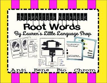 Interactive Notebook Root Word Bundle
