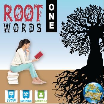 Interactive Notebook Root Words 1