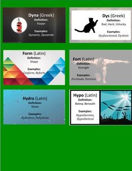 Interactive Notebook Root Words 2