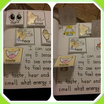 Interactive Notebook Science-Energy: light, sound, heat (S