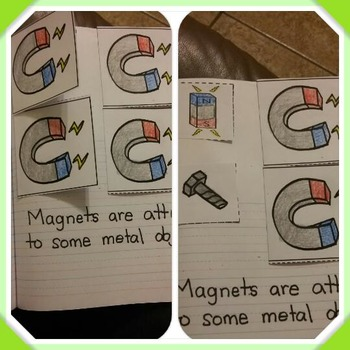 Interactive Notebook Science-Magnets (Spanish and English)