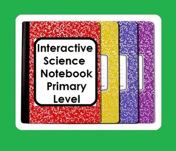 Interactive Notebook Science-Seasons (English Only)