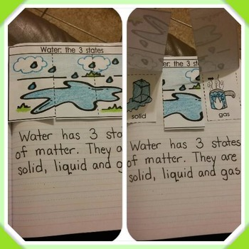 Interactive Notebook Science-Water (Spanish and English)
