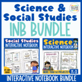 Interactive Notebook: Science and Social Studies Bundle {K-2}