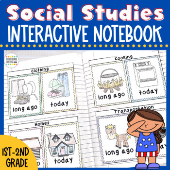 Interactive Notebook Science and Social Studies Bundle K-2