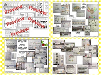 Interactive Notebook: Seasonal & Holidays BUNDLE! 8 Full Packs for PreK-1!