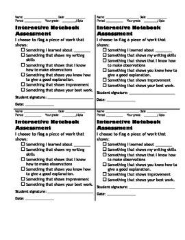 Interactive Notebook Self Assignment