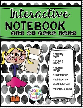 Interactive Notebook Set Up for Teachers and Students *Bundle*