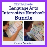 Interactive Notebook Sixth Grade Common Core Bundle - English Language Arts