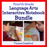 Interactive Notebook Fourth Grade Common Core Bundle - English Language Arts