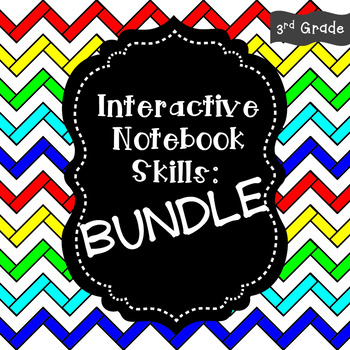 Interactive Notebook - Skills BUNDLE