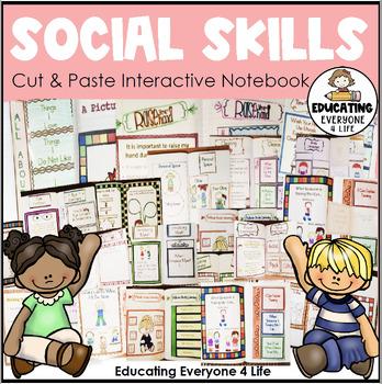 Social Skills Interactive Student Notebook