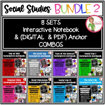 Interactive Notebook Social Studies - Bundle 2 - Great Value!