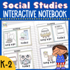 Social Studies Interactive Notebook {K-2}