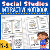 Social Studies Interactive Notebook {K-2}