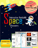 Interactive Notebook {Solar System} = CC Aligned = 2nd - 4th