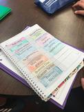 Interactive Notebook: Spanish Greetings/Farewells