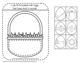 Interactive Notebook: Spring! PreK-1 CC Aligned Activities For ELA, Math & More!