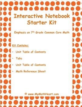 Interactive Notebook Starter Kit