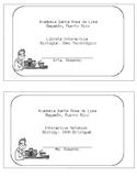 Interactive Notebook Starter Kit (Span & Eng)