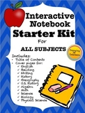 Interactive Notebook Starter Kit for ALL SUBJECTS