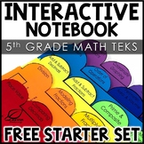 Interactive Notebook Starter Set | 5th Grade Math FREE