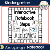 Interactive Notebook Steps for Little Learners